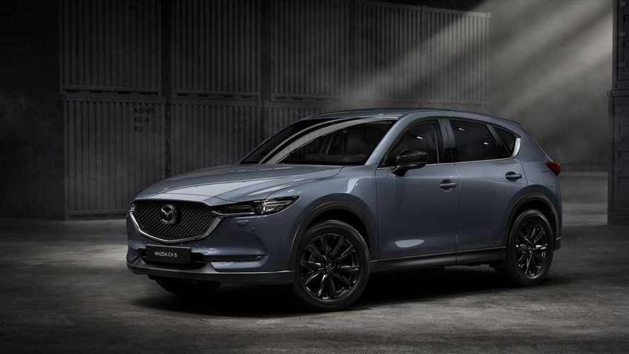 Mazda CX-5 model year 2021