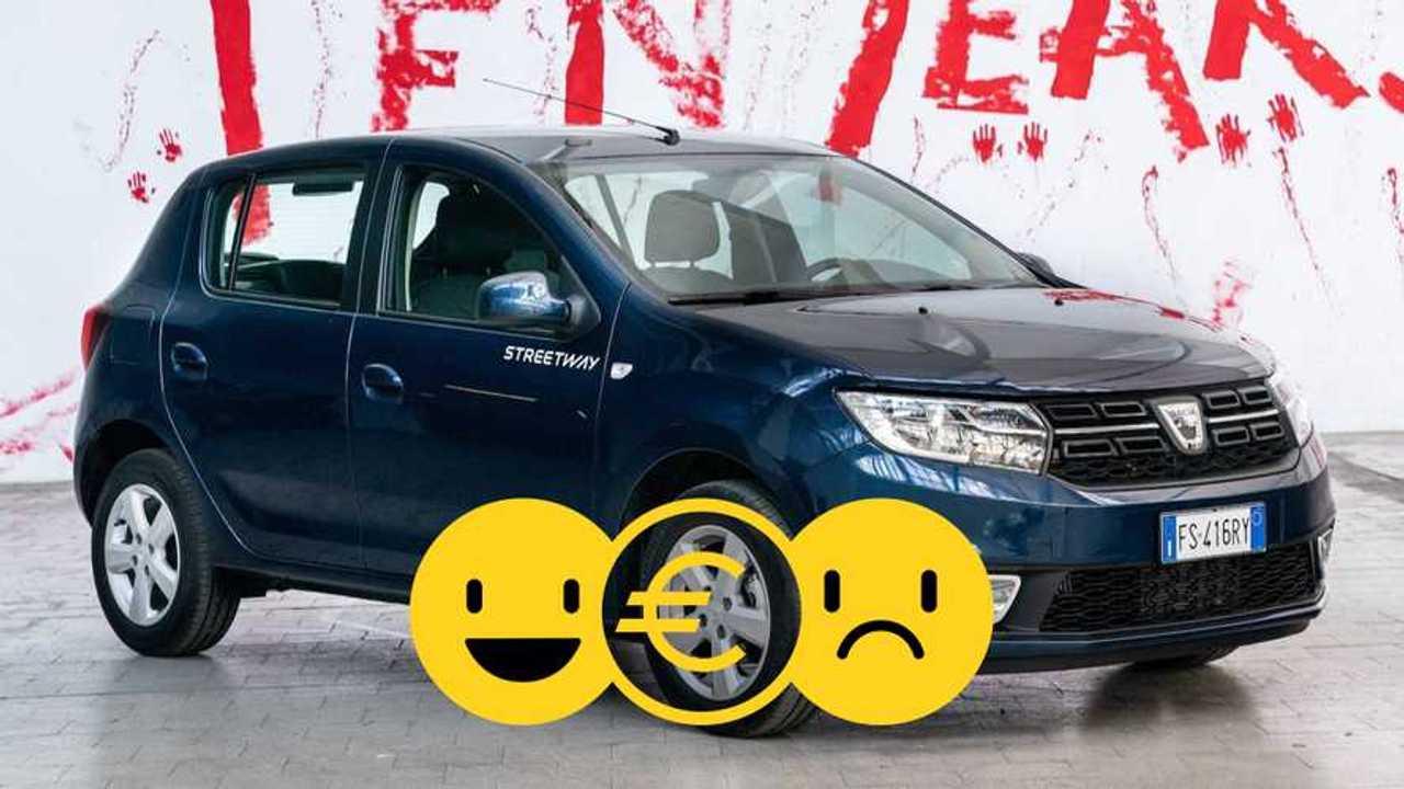 copertina Promozione Dacia Sandero Streetway GPL