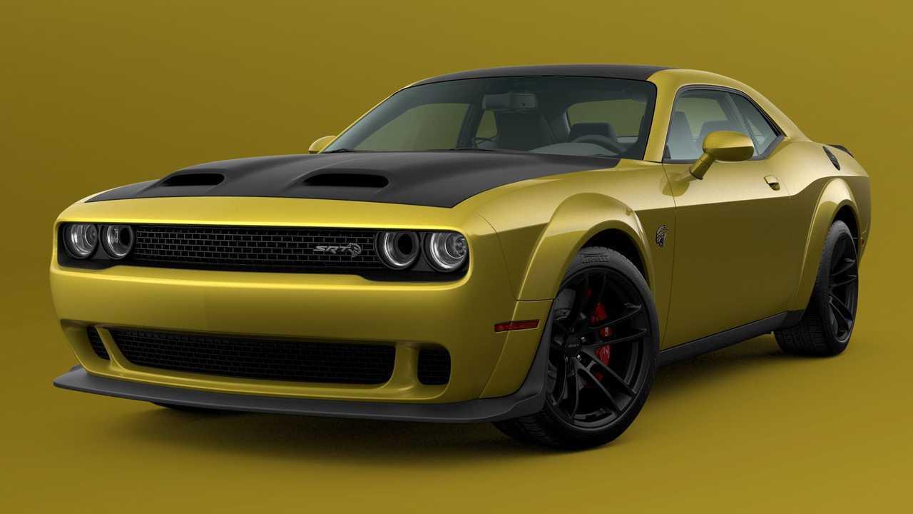 Dodge Challenger Gold Rush Hellcat