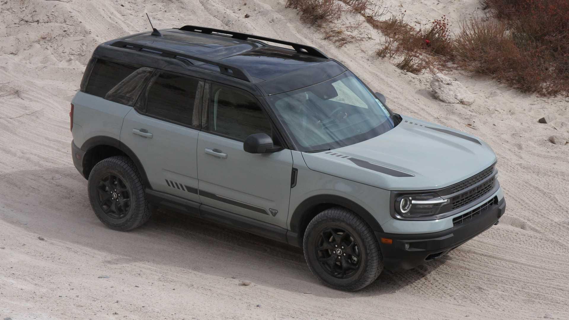 Ваш Ford Bronco Sport 2021 года может быть отложен, если вы закажете эти функции