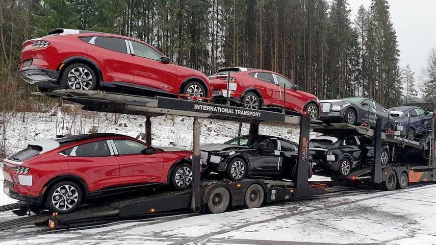 Ford Mustang Mach-E: primeiro lote do SUV elétrico chega à Noruega