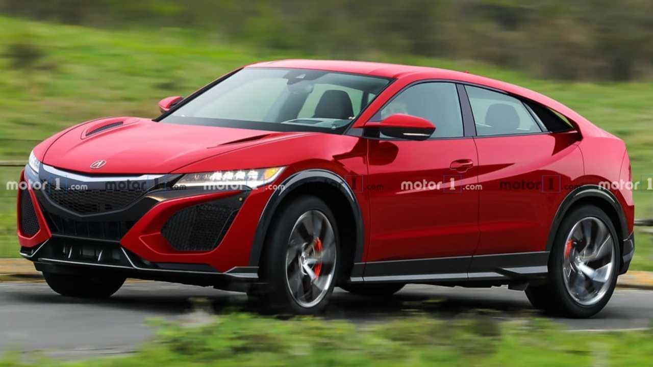 Honda NSX SUV rendering
