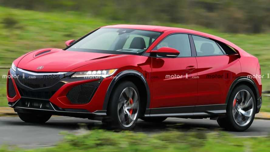 Honda NSX Unofficially Rendered As Family Friendly Super SUV