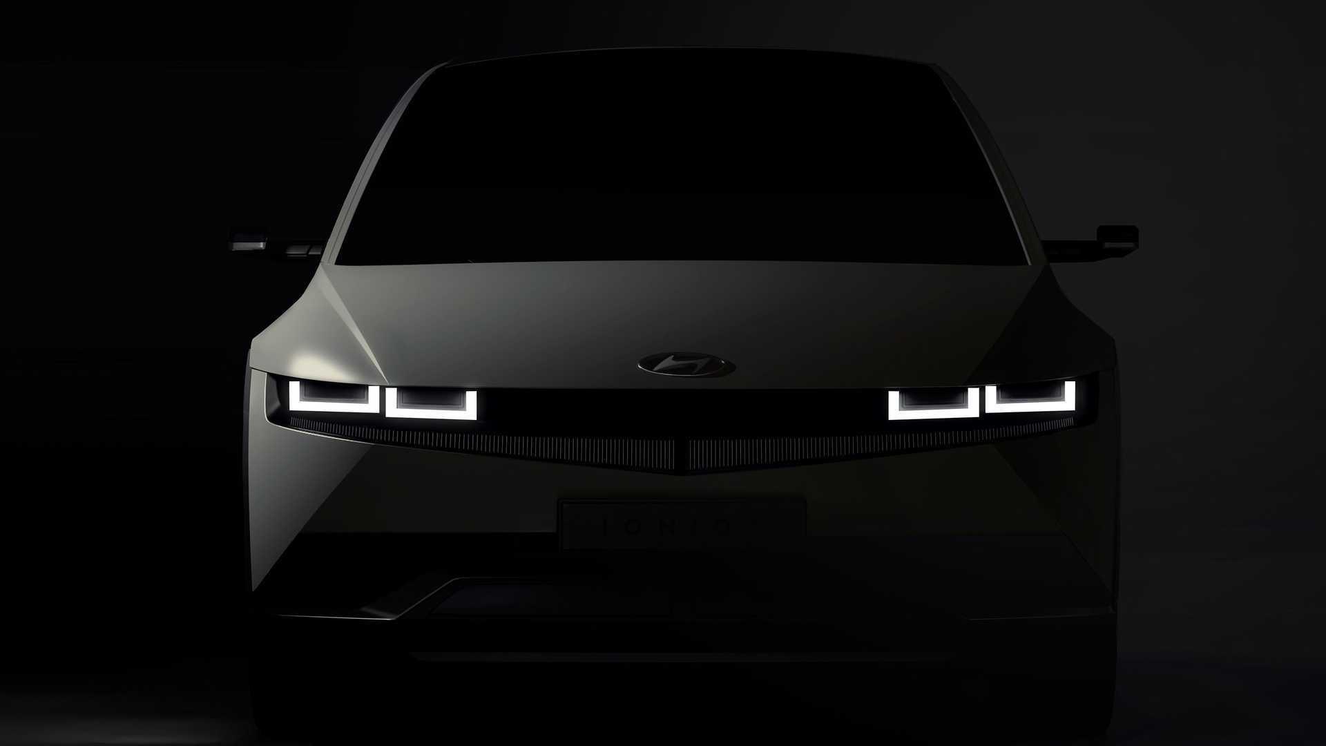Hyundai дразнит грядущий Ioniq 5 EV 2022 года тремя изображениями
