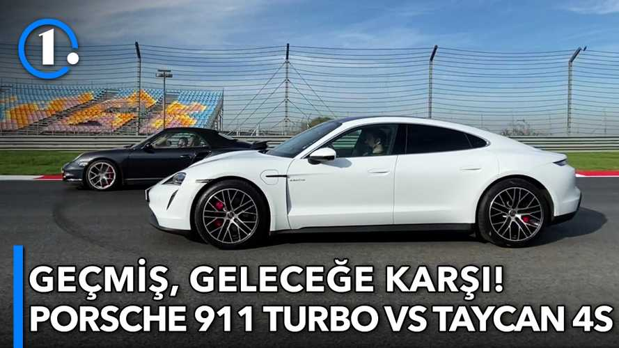 Geçmiş, geleceğe karşı: Porsche 911 Turbo vs Taycan 4S
