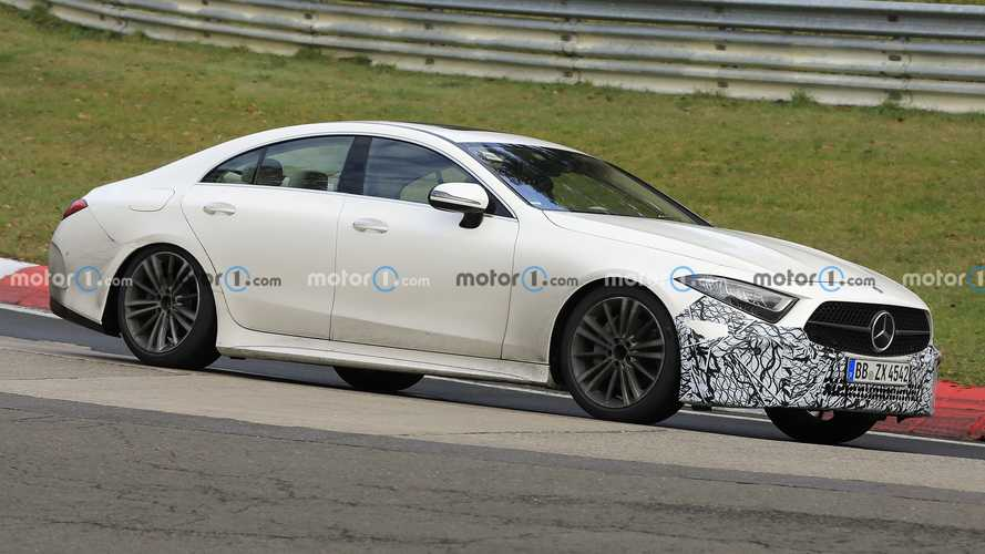 Did Our Spies Catch The Mercedes CLS Facelift Or Something Else?