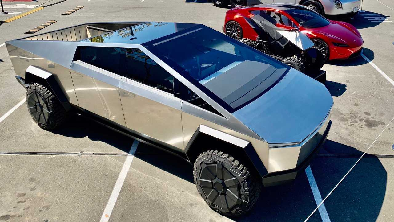 Tesla Battery Day 2020 - Tesla Cybertruck