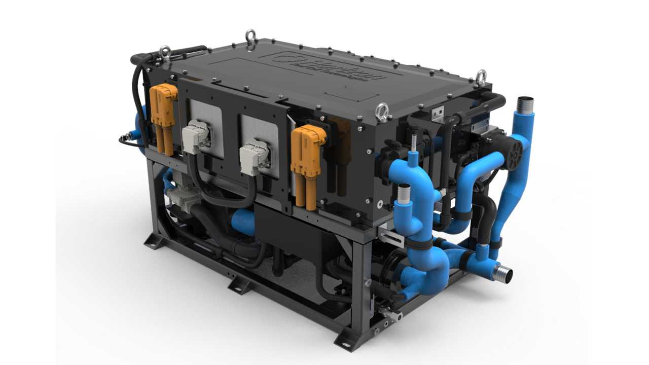 Hyzon Motors Unveils Fuel Cell Stack With Highest Power Density: 6 KW/L