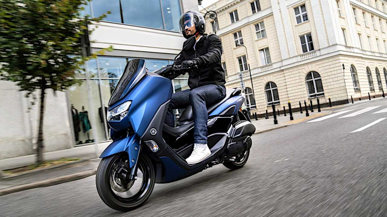 Yamaha NMAX 125 2021 presentada en Japón