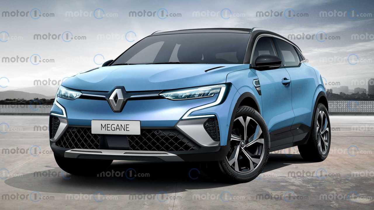 Nuova Renault Mégane, il rendering