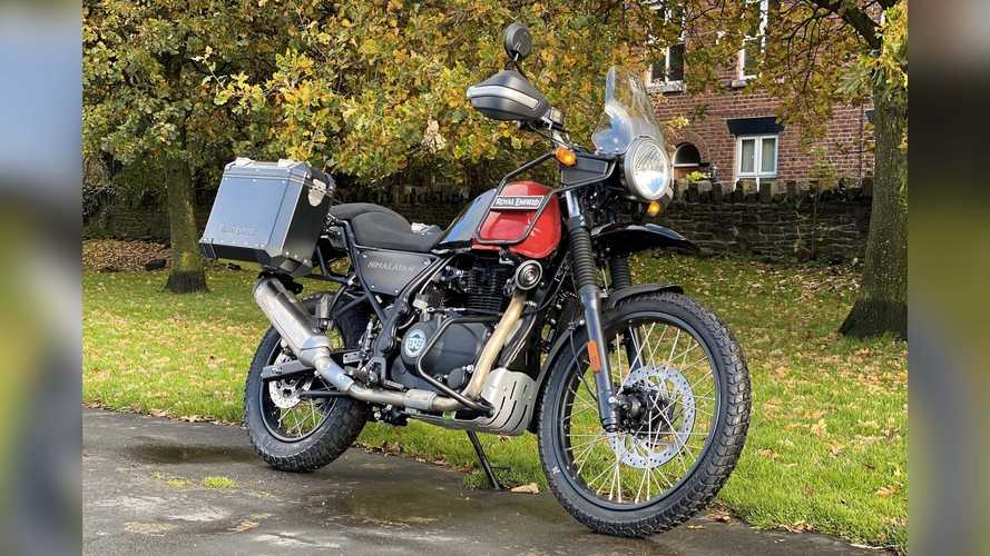 The Royal Enfield Himalayan Offered In Sweet Adventure Edition