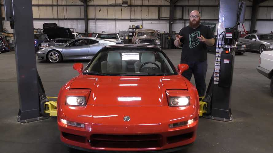 Check Out This 100,000 Mile Acura NSX
