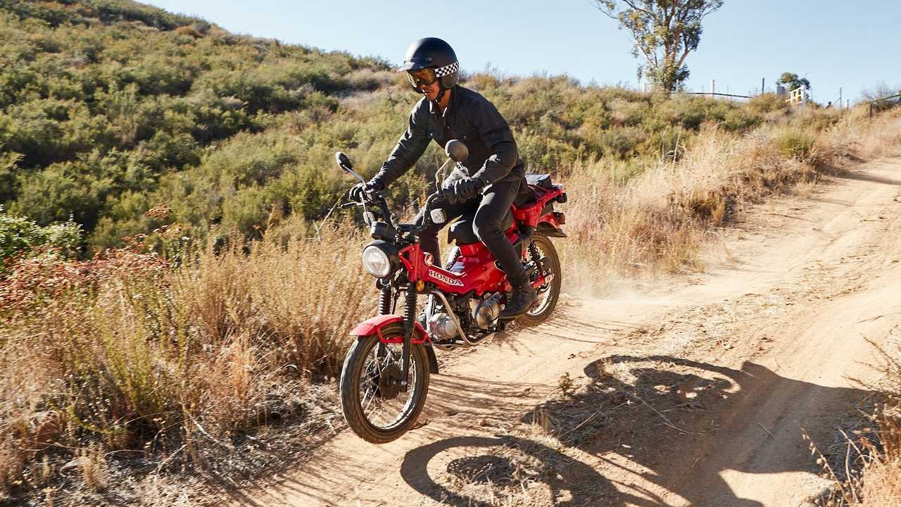 2021 Honda Trail 125 - Send It!