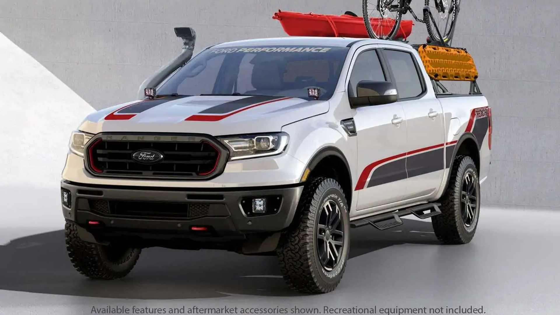 Ford Ranger Xlt Tremor Supercrew Concept Motor1 Com Photos
