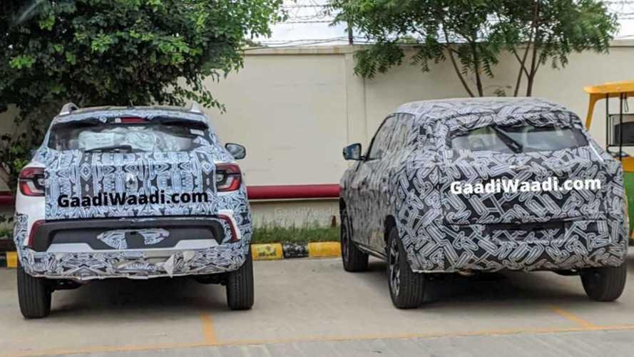 Cotados para o Brasil, Renault Kiger e Nissan Magnite finalizam testes juntos