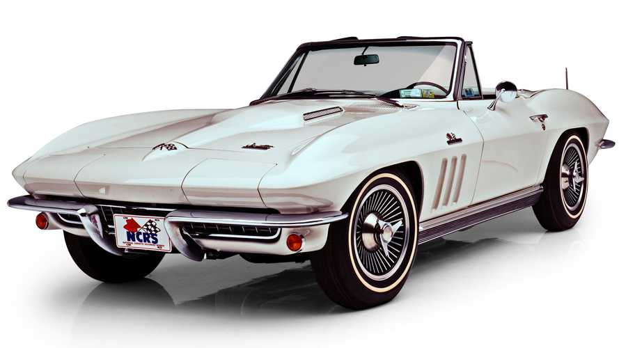 Enter Now For A Chance To Win This 1966 Corvette Convertible Plus $30,000 Cash