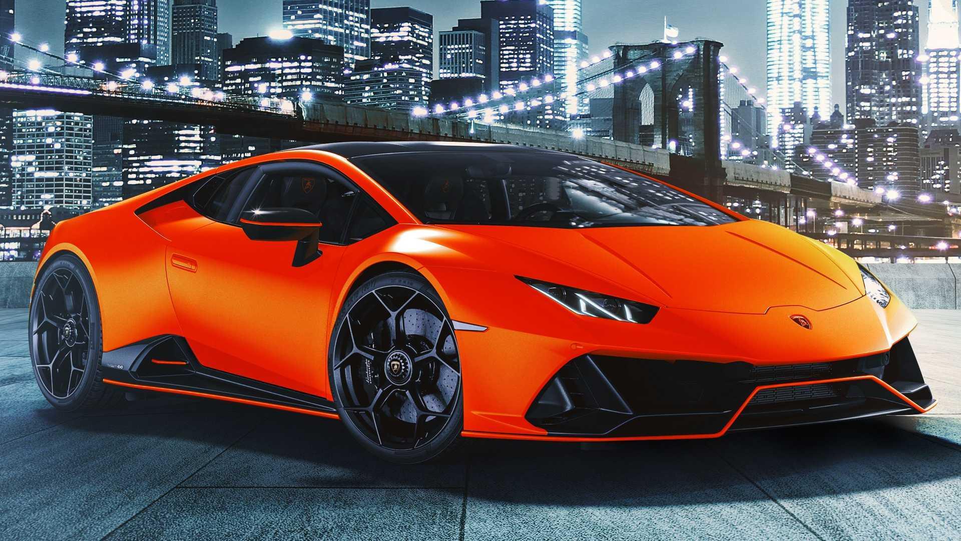 Lamborghini Tastes The Rainbow With Huracan Evo Fluo ...