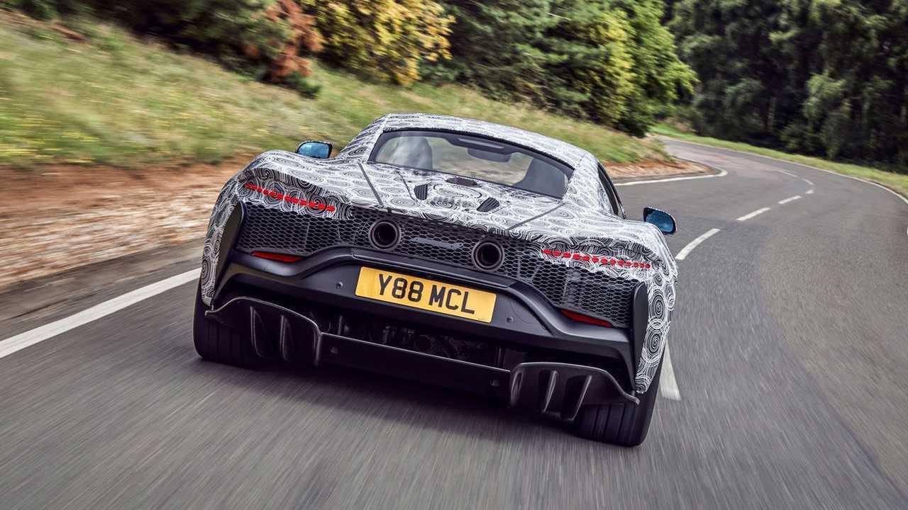 McLaren Supercar ibrido