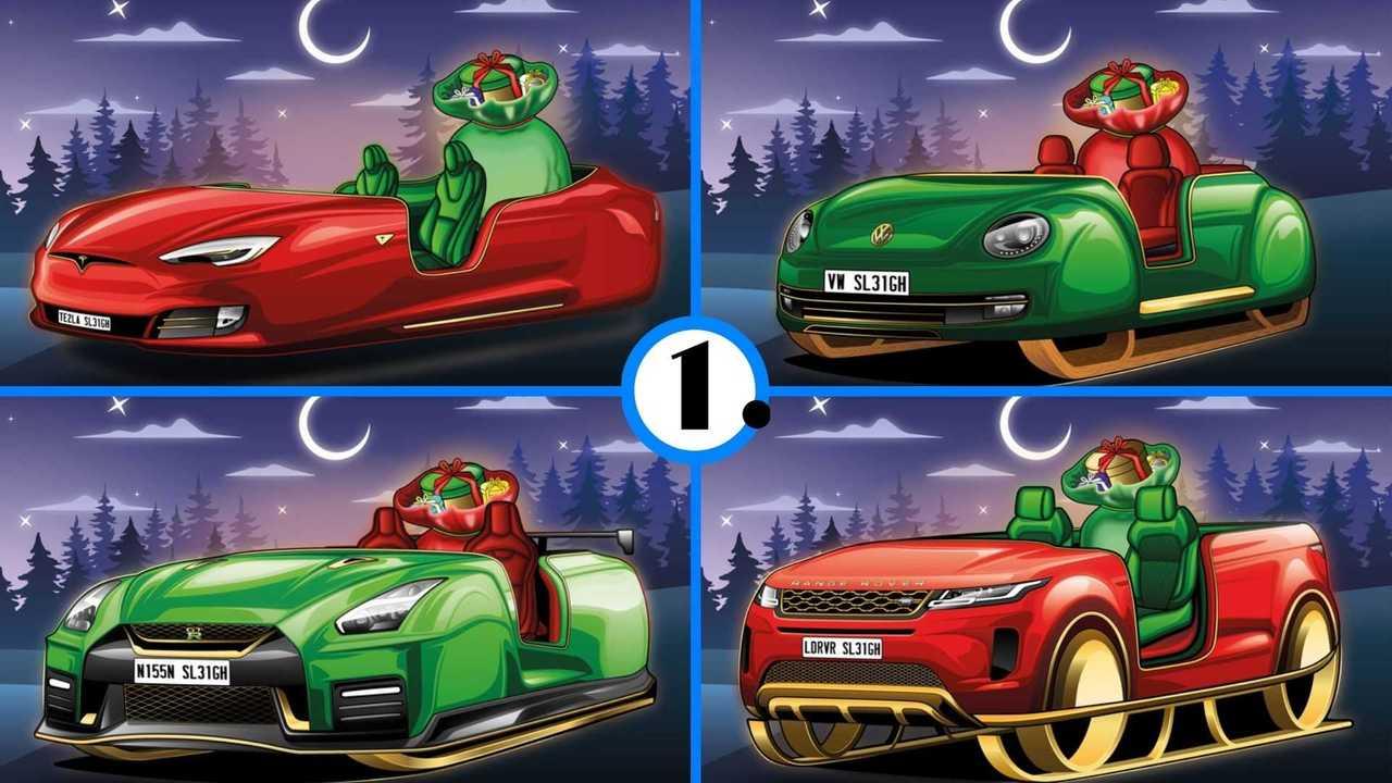 Santa sleighs lead image