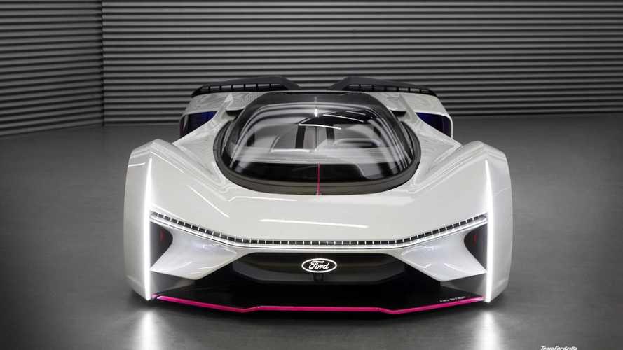 Ford показал суперкар, который вы не купите ни за какие деньги