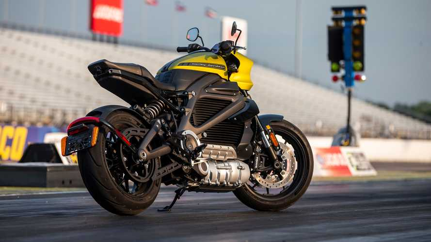 Harley-Davidson LiveWire Indianapolis Speed Record September 2020
