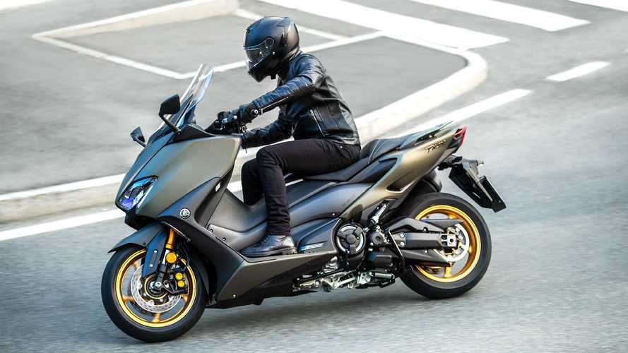Yamaha TMax e XMax 2021, motori Euro 5 e nuovi colori