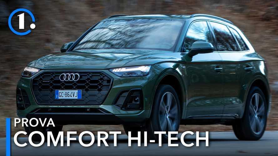 Audi Q5 restyling, la prova del SUV bestseller, ora mild hybrid