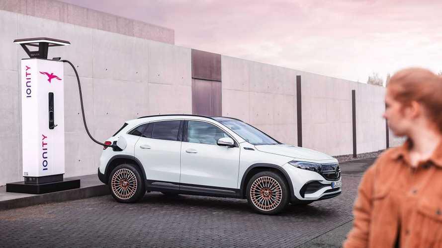 Mercedes-Benz EQA: Mobil Listrik yang Berbasis Bodi Model GLA