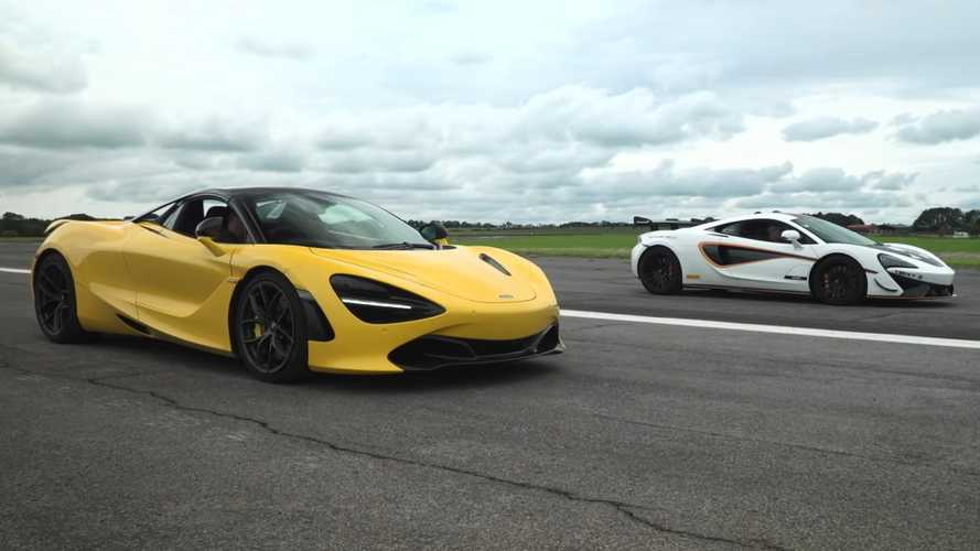 Duel Sengit Duo Supercar McLaren dalam Drag Race, 620R Vs 720S Spider