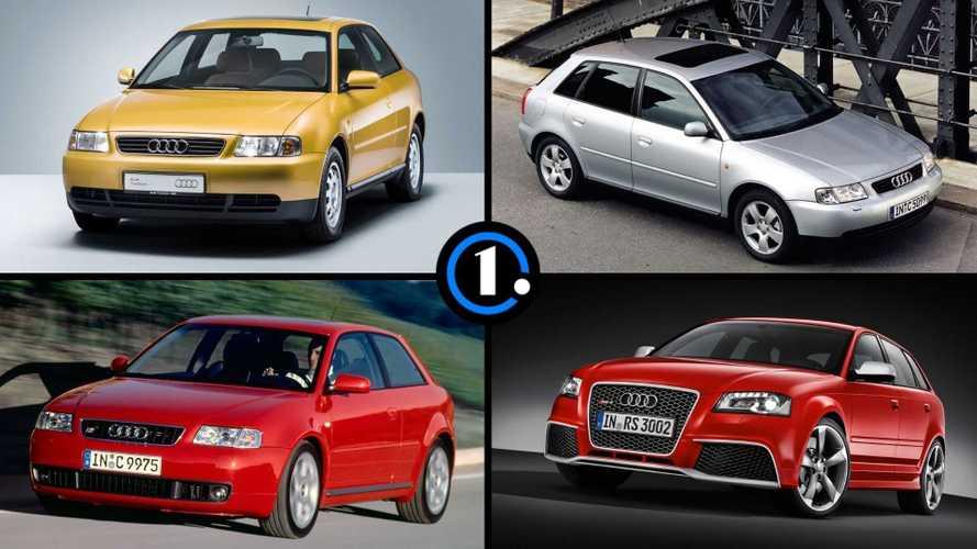 L'Audi A3 a 25 ans, voici 10 choses à savoir