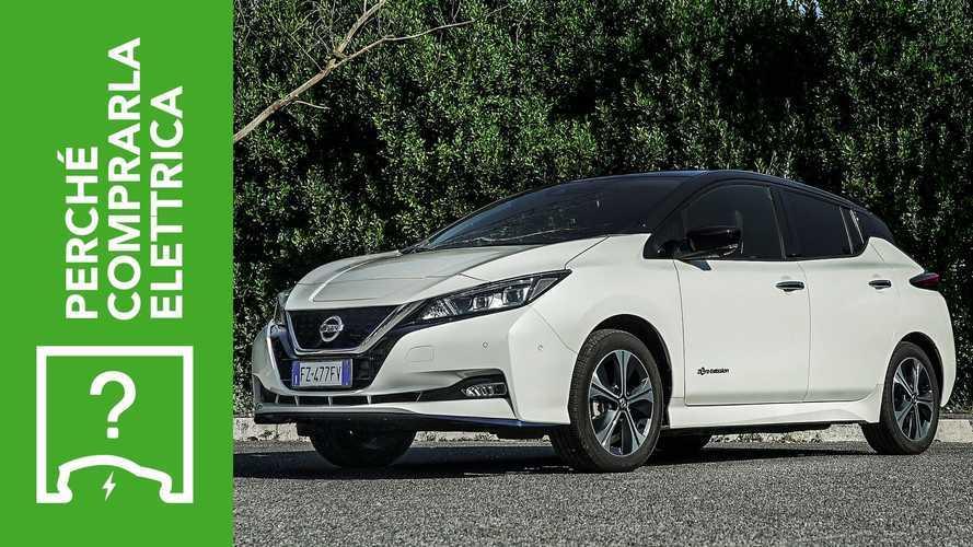 Nissan Leaf e+, perché comprarla elettrica e perché no