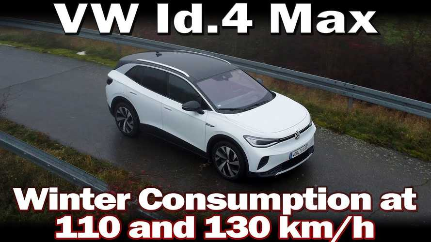 2021 Volkswagen ID.4 Max: Highway Consumption In Winter Weather