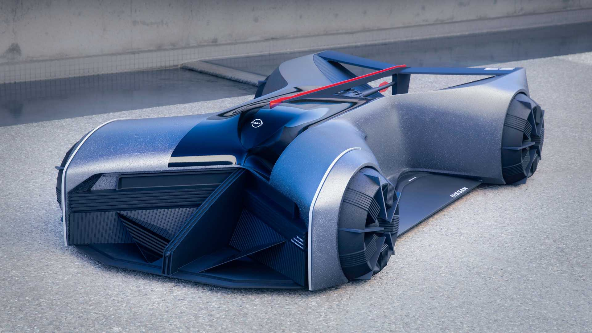 Nissan GT-R (X) 2050 Concept Is A Supercar You Drive On Your Belly