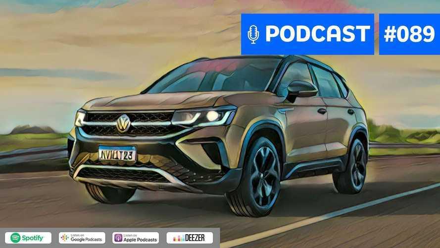 Motor1.com Podcast #89: VW Taos 2021 e o ano dos SUVs médios