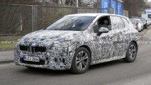 BMW 2er Active Tourer (2021): U06 verliert an Tarnung