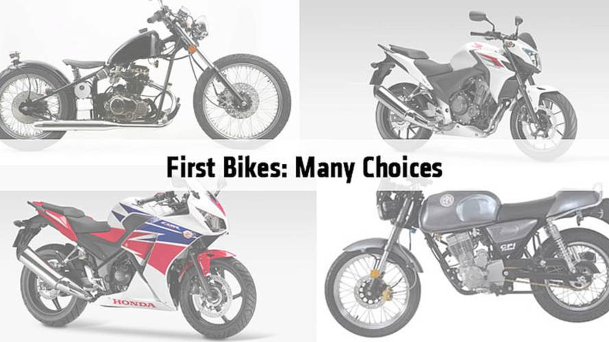 First Bikes: Many Choices