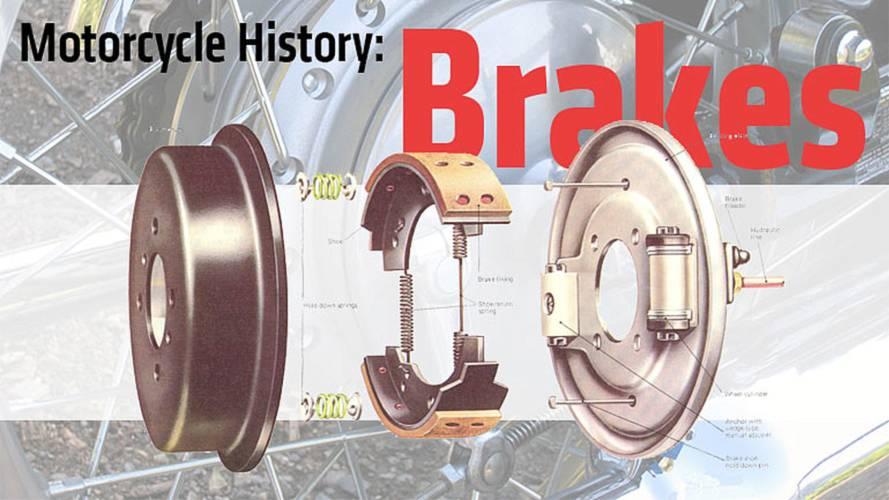 Motorcycle History: Brakes
