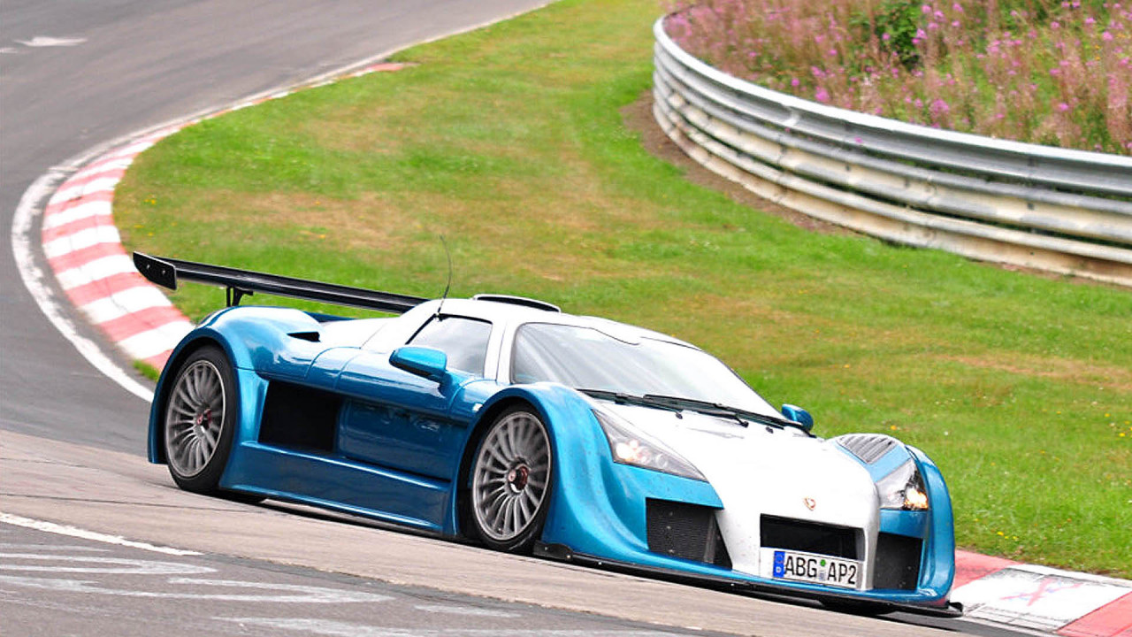 Platz 9: Gumpert Apollo Sport (7:11.57)