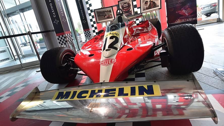 Jacques Villeneuve dans la Ferrari de son père au GP du Canada