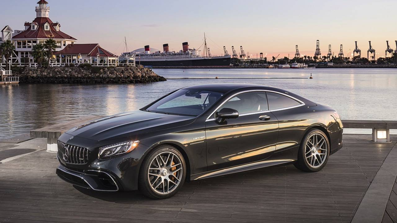 Mercedes S63 AMG Coupé (Brabus) - Alphonse Areola