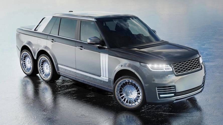 Commandez votre Range Rover à 6 roues !