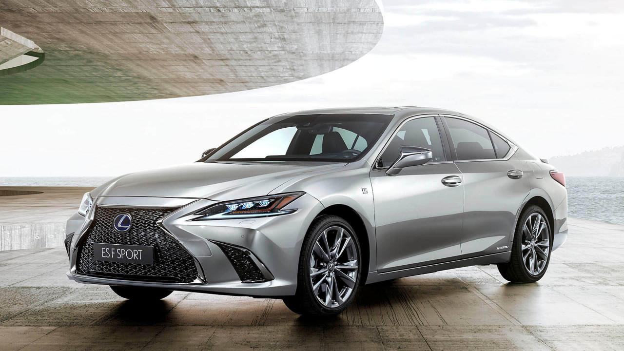 Lexus ES kommt 2019