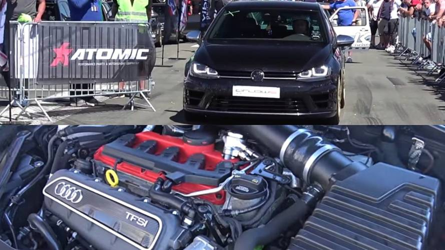 600-HP VW Golf R With Audi RS3 Engine Reminds Us Of The R400