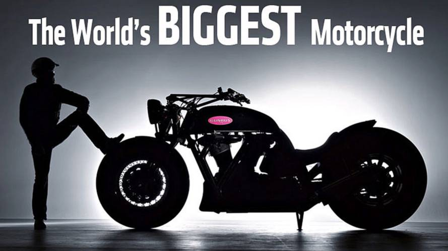 The World's Biggest Motorcycle – Meet The Leonhardt Gunbus 410