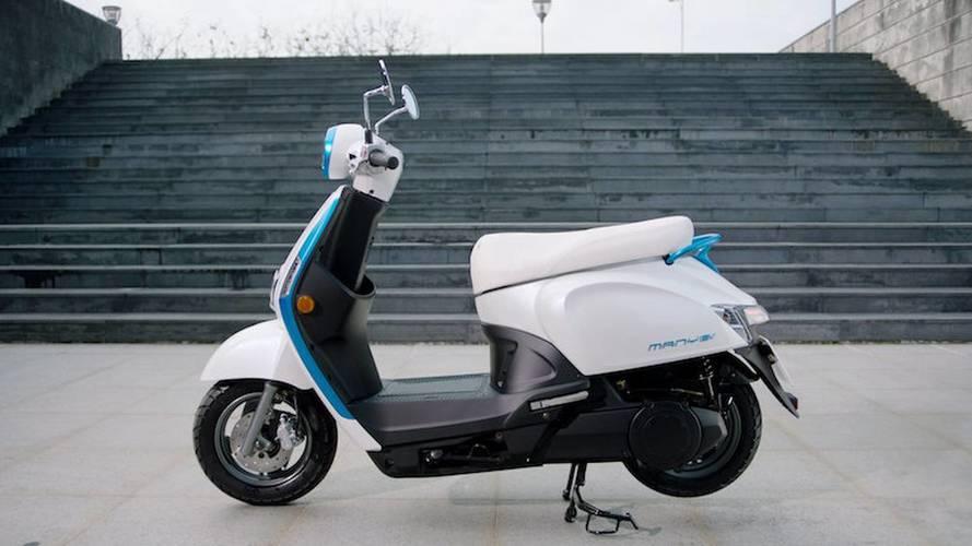 Kymco, elektrikli motosikletini ve akılcı şarj sistemini tanıttı