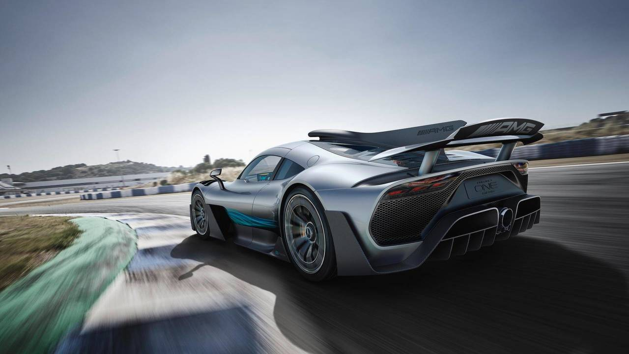 10. Mercedes-AMG Project ONE 2018 - Más de 1.000 CV