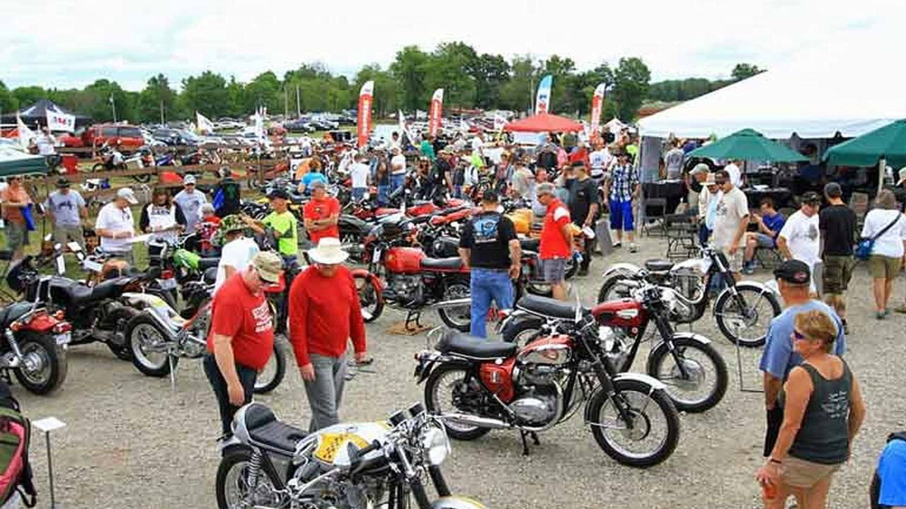 Reminder - Ohio Vintage Motorcycle Days in July