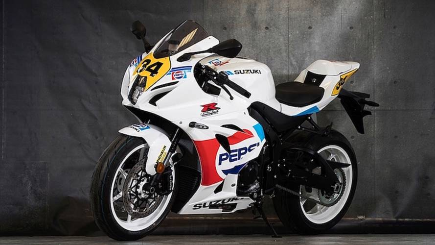Meet the Kevin Schwantz Pepsi RGV Replica GSX-R1000
