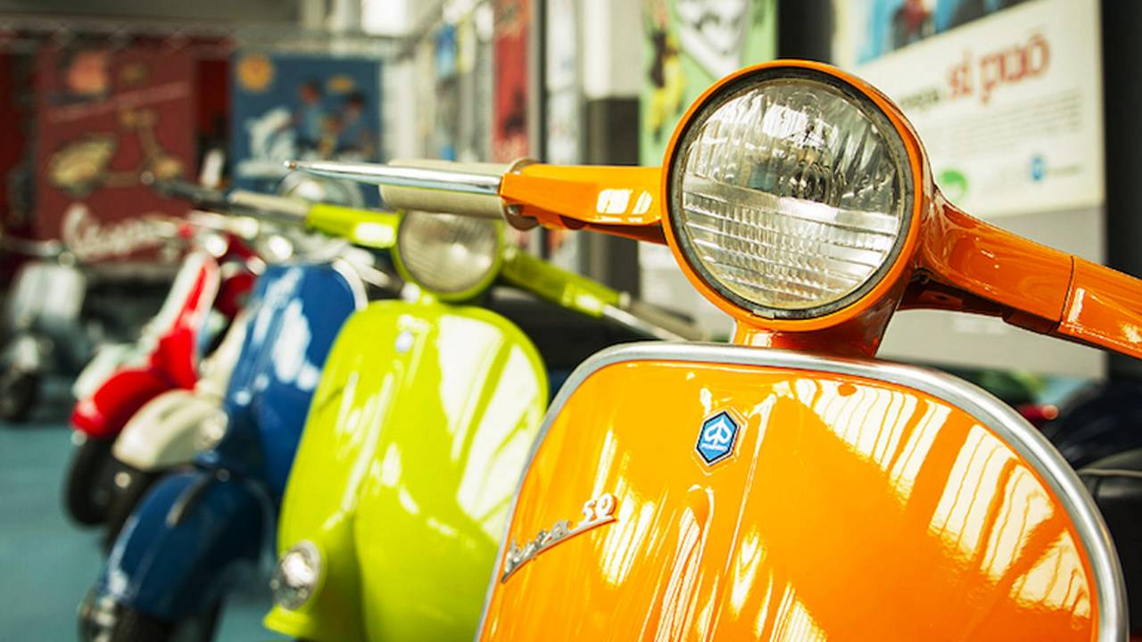 Piaggio Group Opens Ultimate Scooter Museum