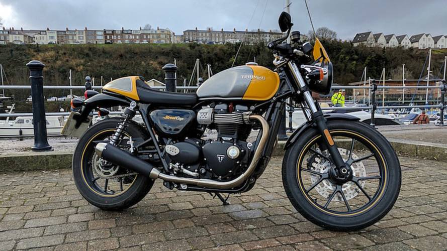 RideApart Review: 2017 Triumph Street Cup